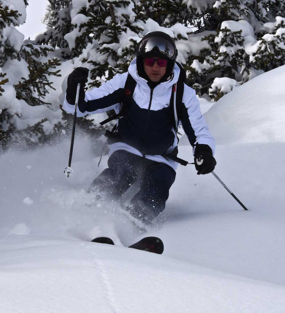 Freeride in Courchevel