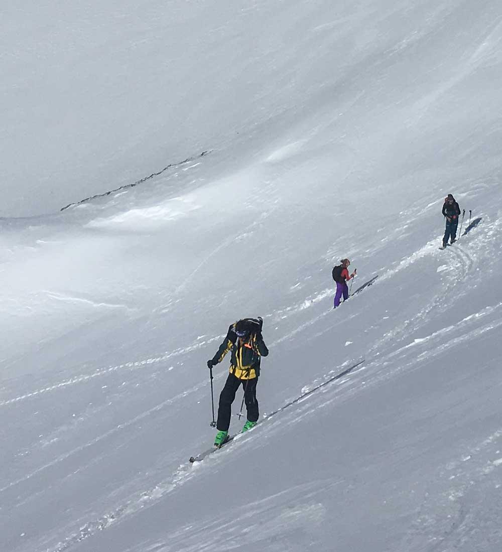 Ski Touring experience